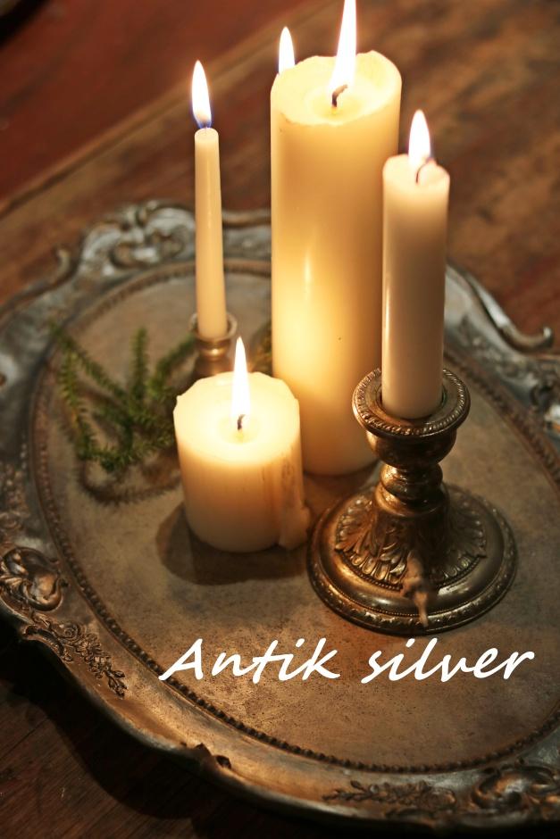 Betongfat Antik silver