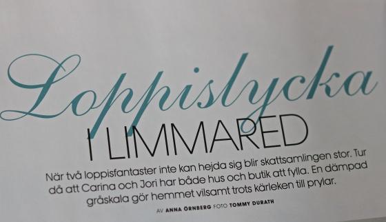 Tidningsreportage Drömhem & trädgård 160407
